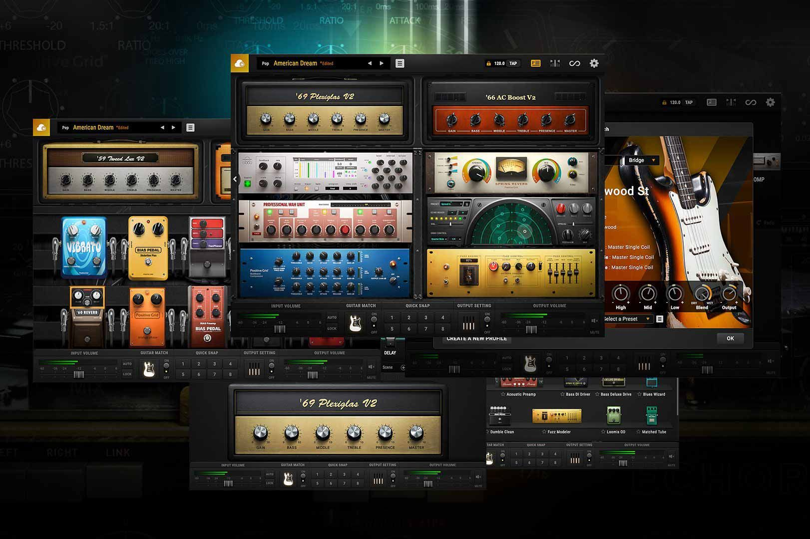 Positive Gridbias Fx 2 Elitev2 1 9 4885100 Amplifiers122 Effects Units210 Factory Presetsguitar Match 2 Guitar Effects Effects Processor Multitrack Recording