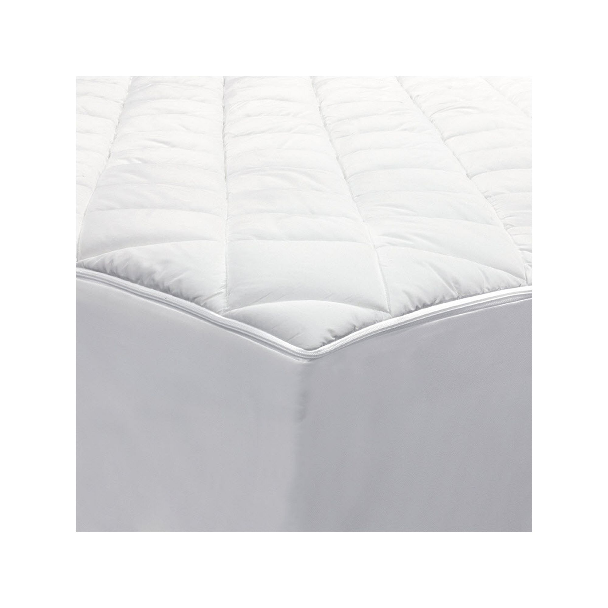 allerease 2 in 1 zippered mattress protector luxury mattress pad