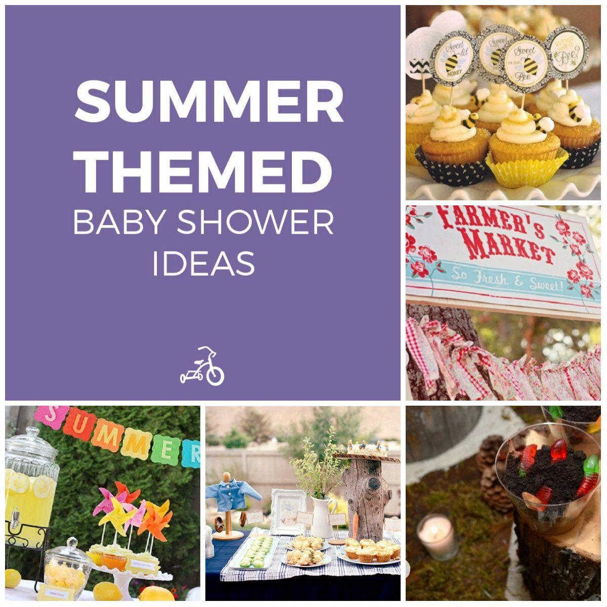 12 Sweet Summer Themed Baby Shower Ideas