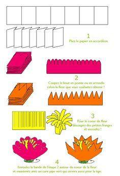 jolies fleurs en papier cr pon fleur faire soi m me. Black Bedroom Furniture Sets. Home Design Ideas