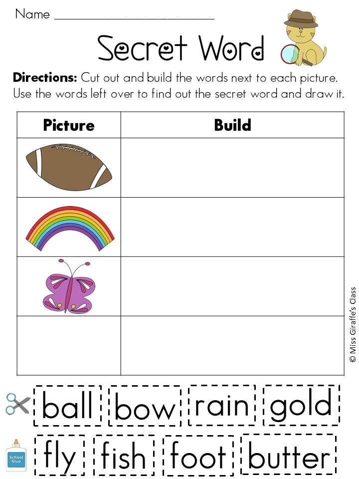 Pin On Teaching Ideas Compound word worksheets with pictures
