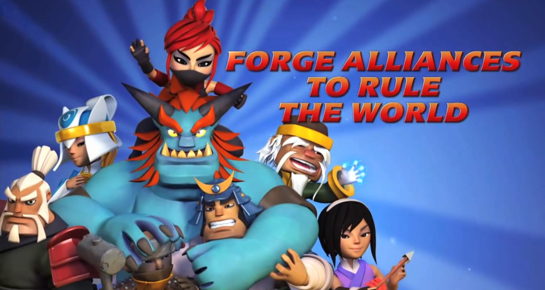 Samurai Siege: Forge Alliances to Rule The World
