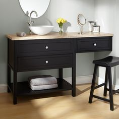 Sink And Makeup Vanity Combo Google Search Bathroom Vanity Small Bathroom Redo Vanity Redo