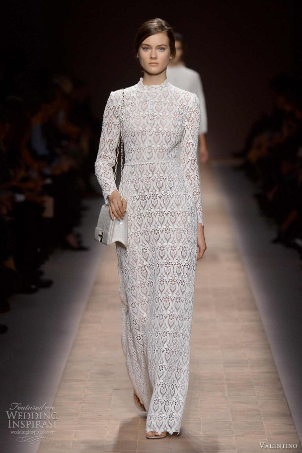 78 Best images about long white lace dress long white maxi dress ...