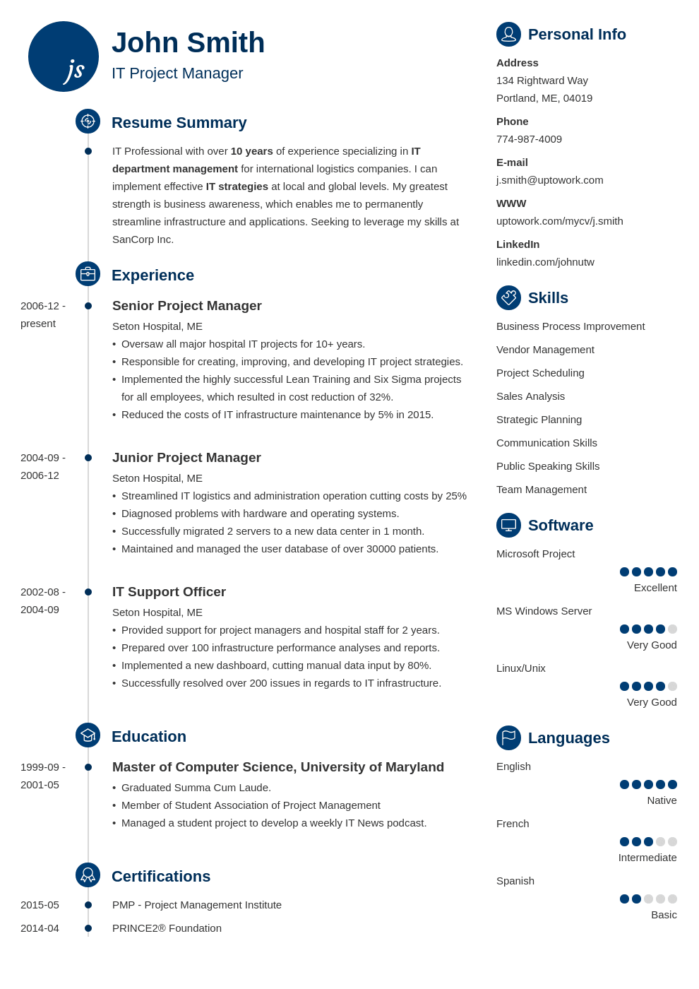 Cv Template Zety Cv Template How To Make Resume Downloadable