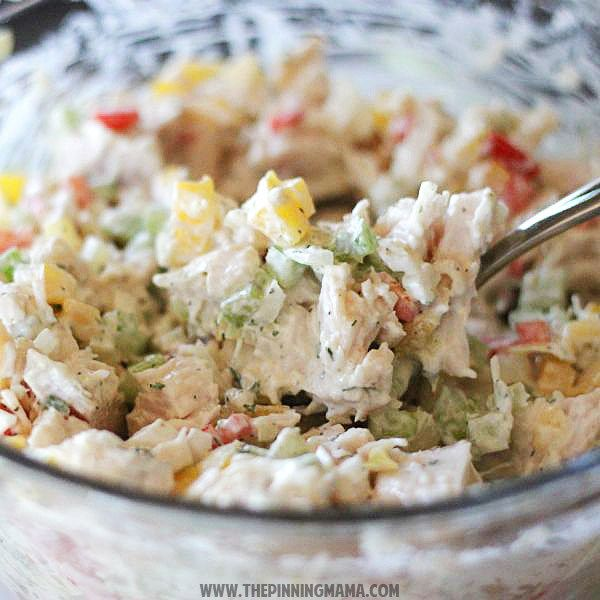 Ranch Chicken Salad Recipe {Paleo- Whole30 Compliant}   The Pinning Mama