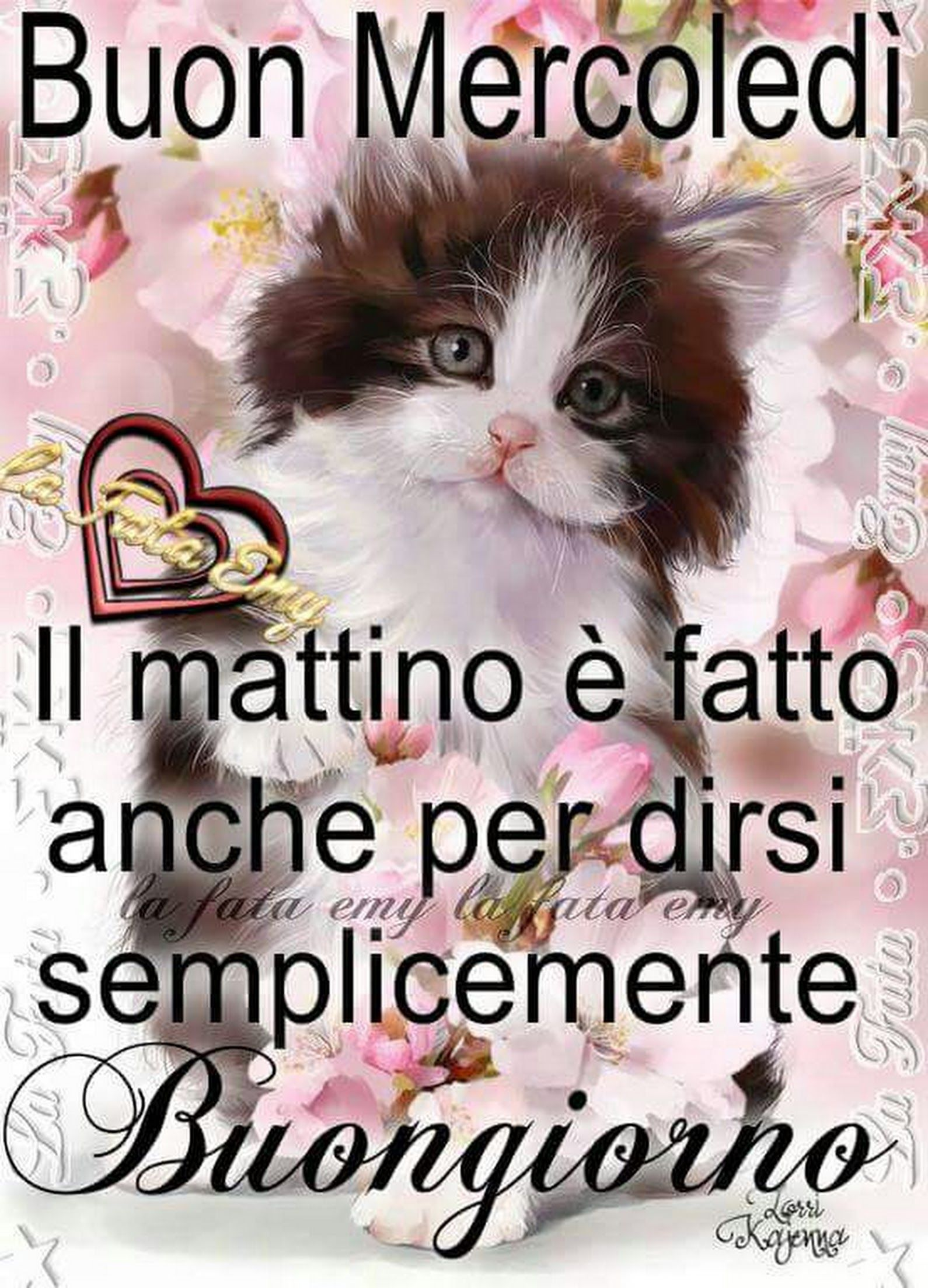Buongiorno mercoled gatto buongiorno buon lunedi for Buongiorno con gattini