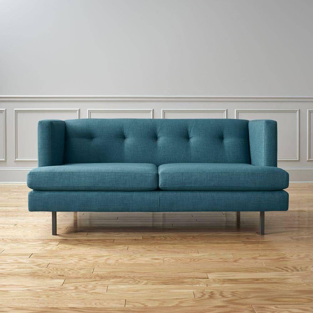 modern furniture small apartments. Avec Apartment Sofa In Tess Peacock Modern Furniture Small Apartments