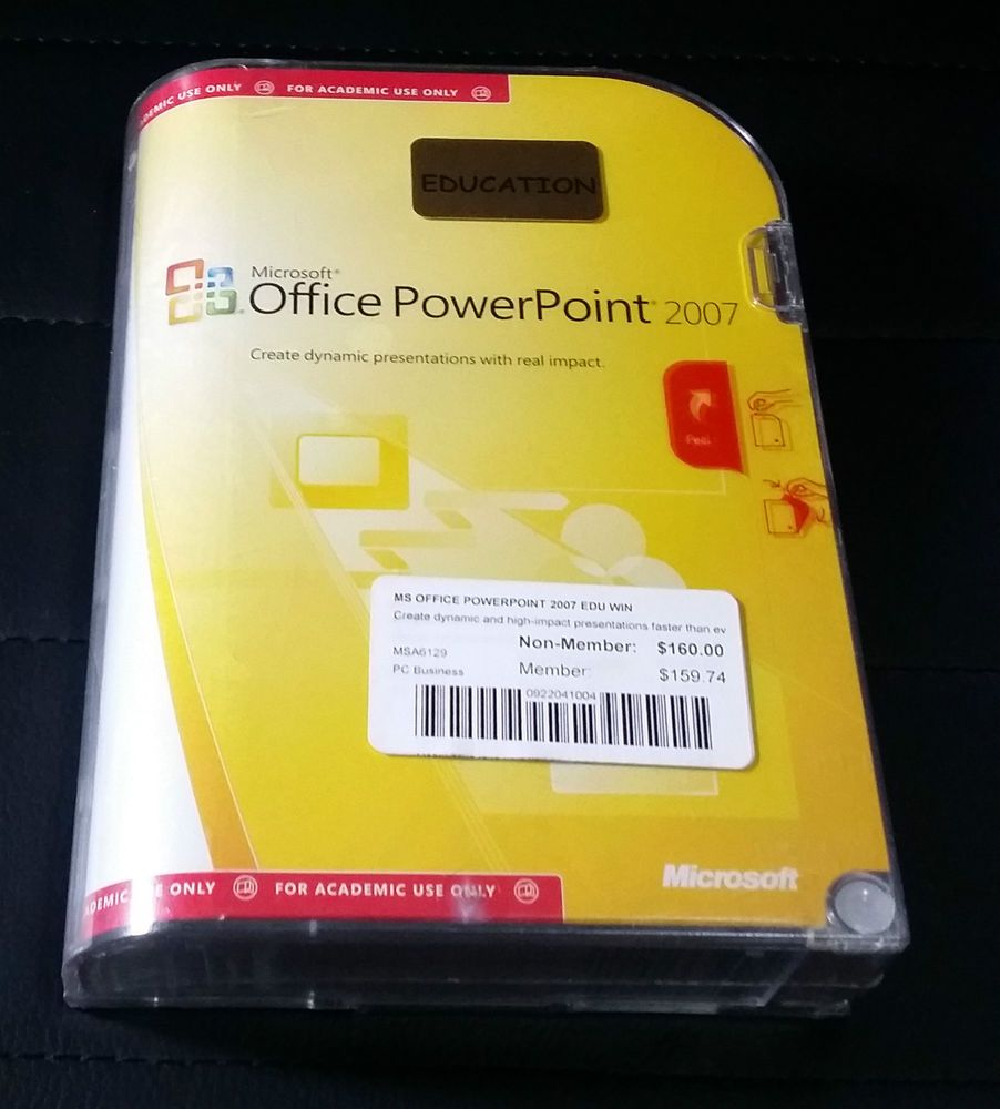 Microsoft Office PowerPoint  2007  FREE Postage