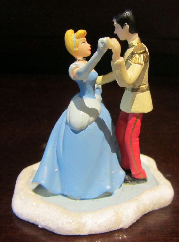 RARE Disney Princess Cinderella Dancing Prince Christmas ...