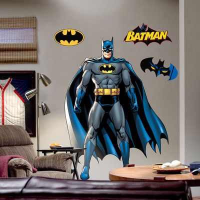 Super Heroes Batman Wall Decal With Images Wall Graphics