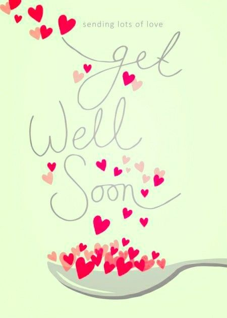 Feel Better Quick Sweet Bff With Images Get Well Soon