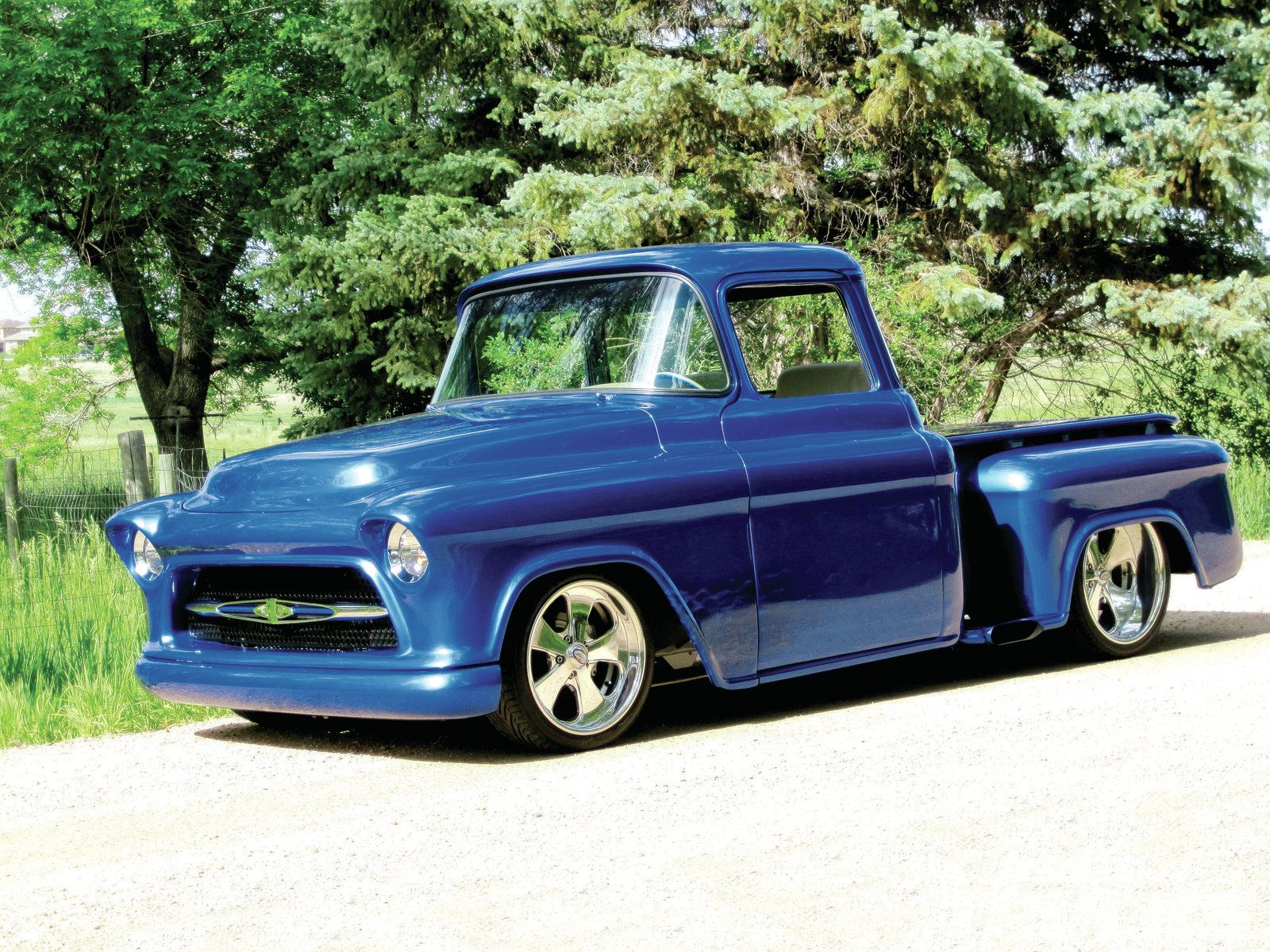 1955 chevrolet hot rod truck pictures to pin on pinterest - 1955 Chevy Truck 1955 Chevrolet Truck Side