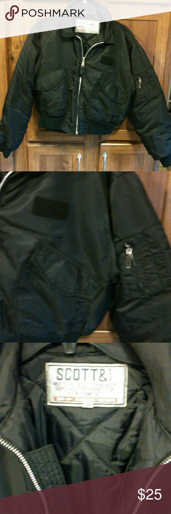Scott Fox Flight Jacket Flight Jacket Jackets Fox Clothing [ 1740 x 580 Pixel ]