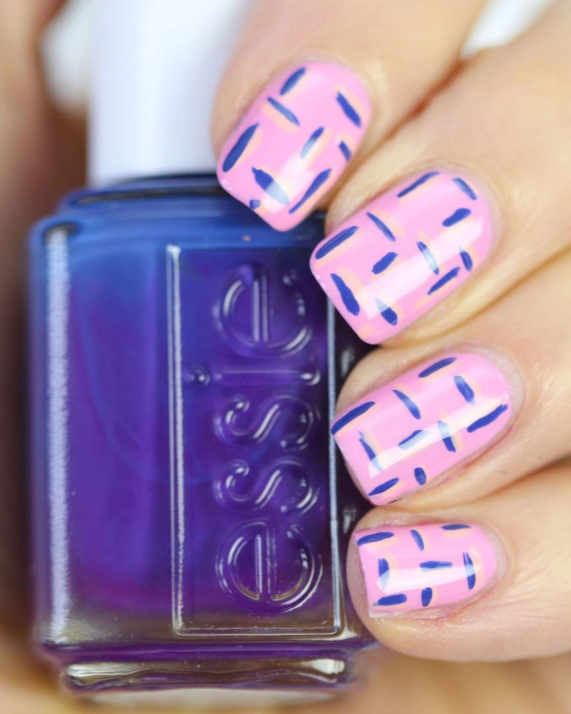 Buy Haircolorful and Beauty polka dot nail art picture trends