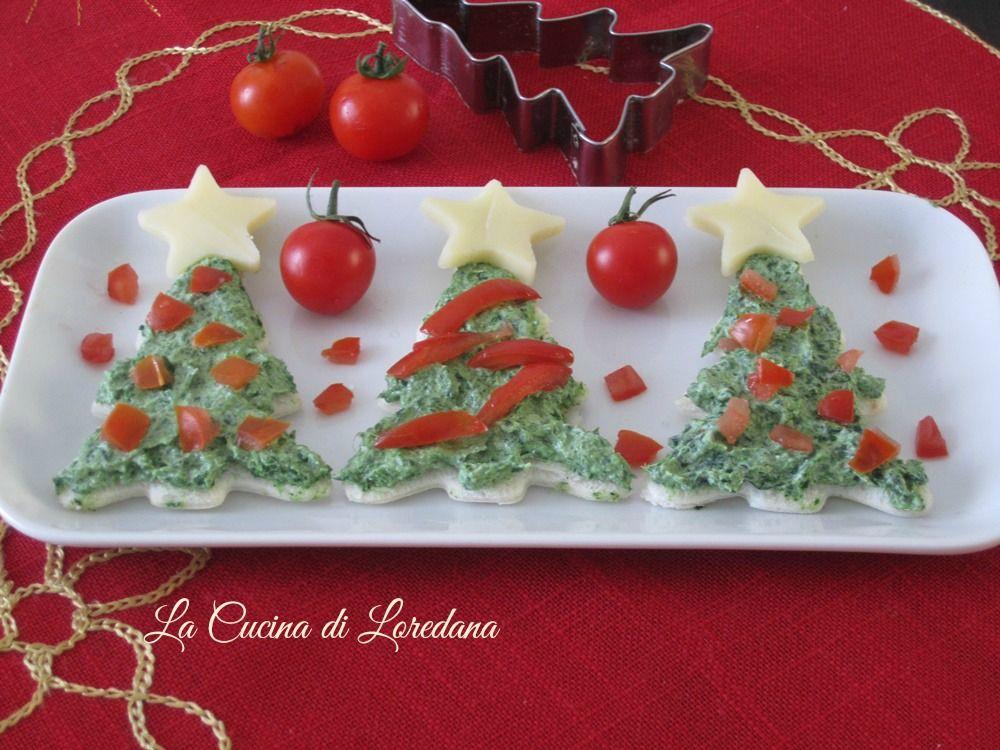 Antipasti Tartine Di Natale.Tartine Di Natale Ricetta Antipasto Antipasti Di Natale Antipasti Ricette