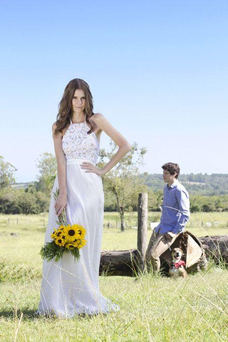 Vestido de Noiva Sun - O Amor É Simples