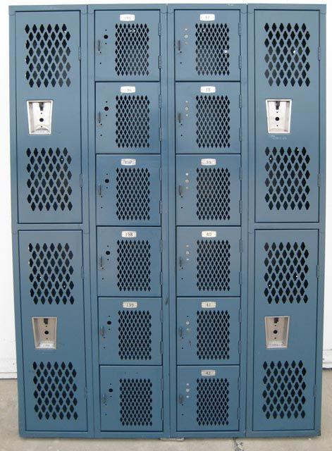 Fresh Metal Gym Lockers