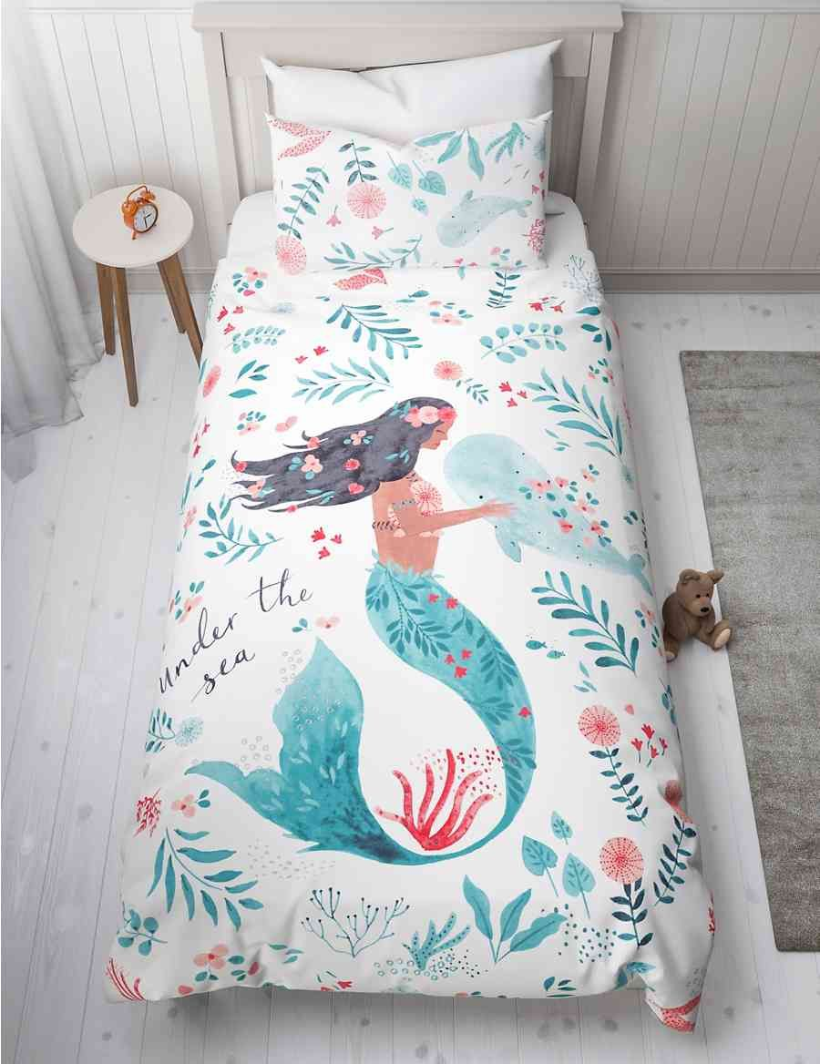 Mermaid Bedding Set Mermaid Bedding Mermaid Bed Set Girls Twin Bed