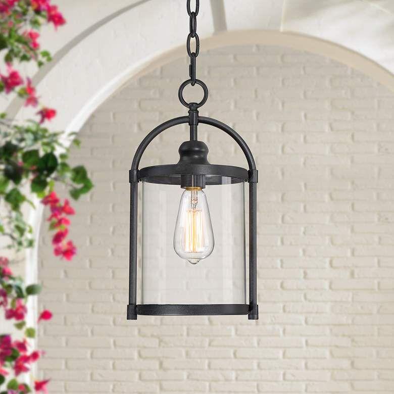 Avani 15 High Black Outdoor Hanging Light 68d94 Lamps Plus Hanging Lights Outdoor Hanging Lights Hanging Porch Lights