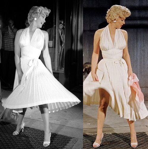 1000  images about Marilyn&-39-s White Dress on Pinterest - New york ...