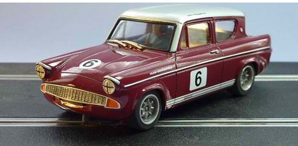Ford Anglia Broadspeed Saloon Slot Cars Voiture De Course