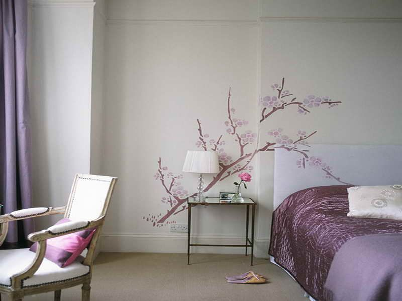 How To Paint A Bedroom Wall - Home Design Ideas