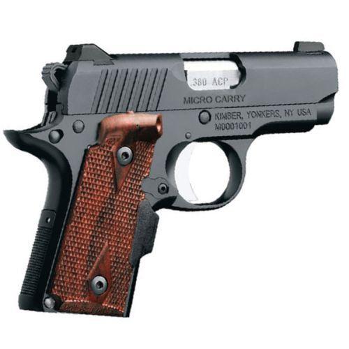 Kimber 1911 Micro Pistols: Kimber Micro Carry Pistol W/Holster 3300089, 380 ACP, 2.75