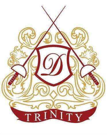 Logo Of The Trinity D Fencing Club Fencing Club Sword Logo Fencing Sword