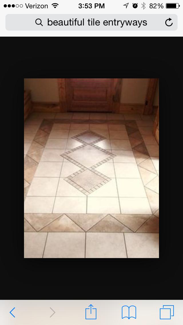 Pin by Jane Russell on Foyer | Pinterest | Tile flooring, Tile ideas ...