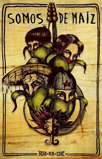 Colectivo Hua Ra Che Arte De Protesta Arte Chicano Arte Político