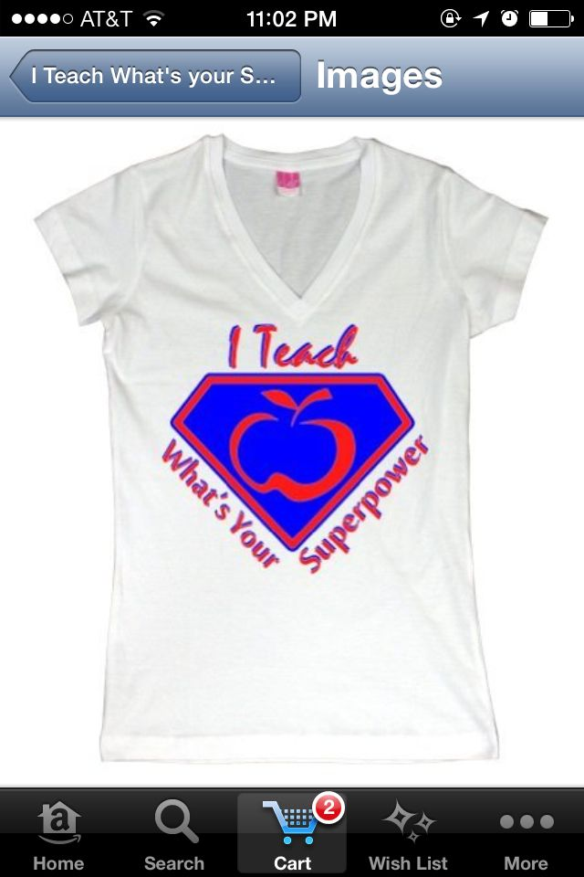 I teach...what's your superpower?