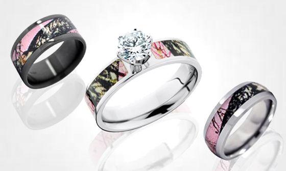 Realtree Enement Rings | Realtree Tattoos Pink Realtree Diamond Ring Series Pink Realtree
