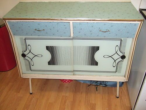 1950s atomic kitchen cabinet sputnik sideboard vintage retro London ...