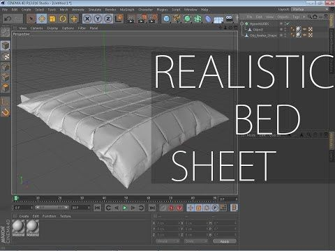 Marvelous Designer 3 Tutorial How To Make A Realistic Bed
