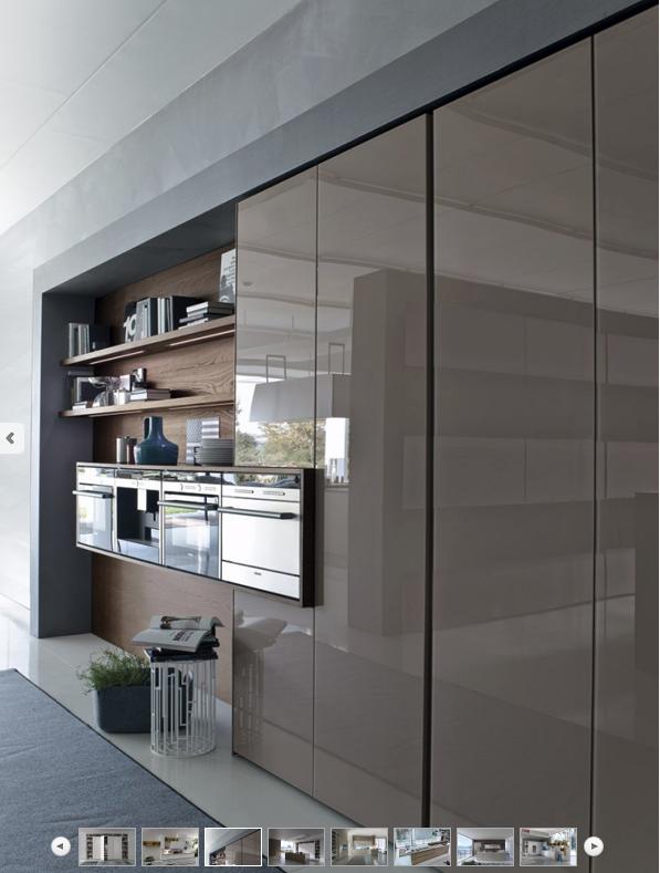 Full Height Cabinets Modern Kitchen, Full Height Kitchen Cabinet Design