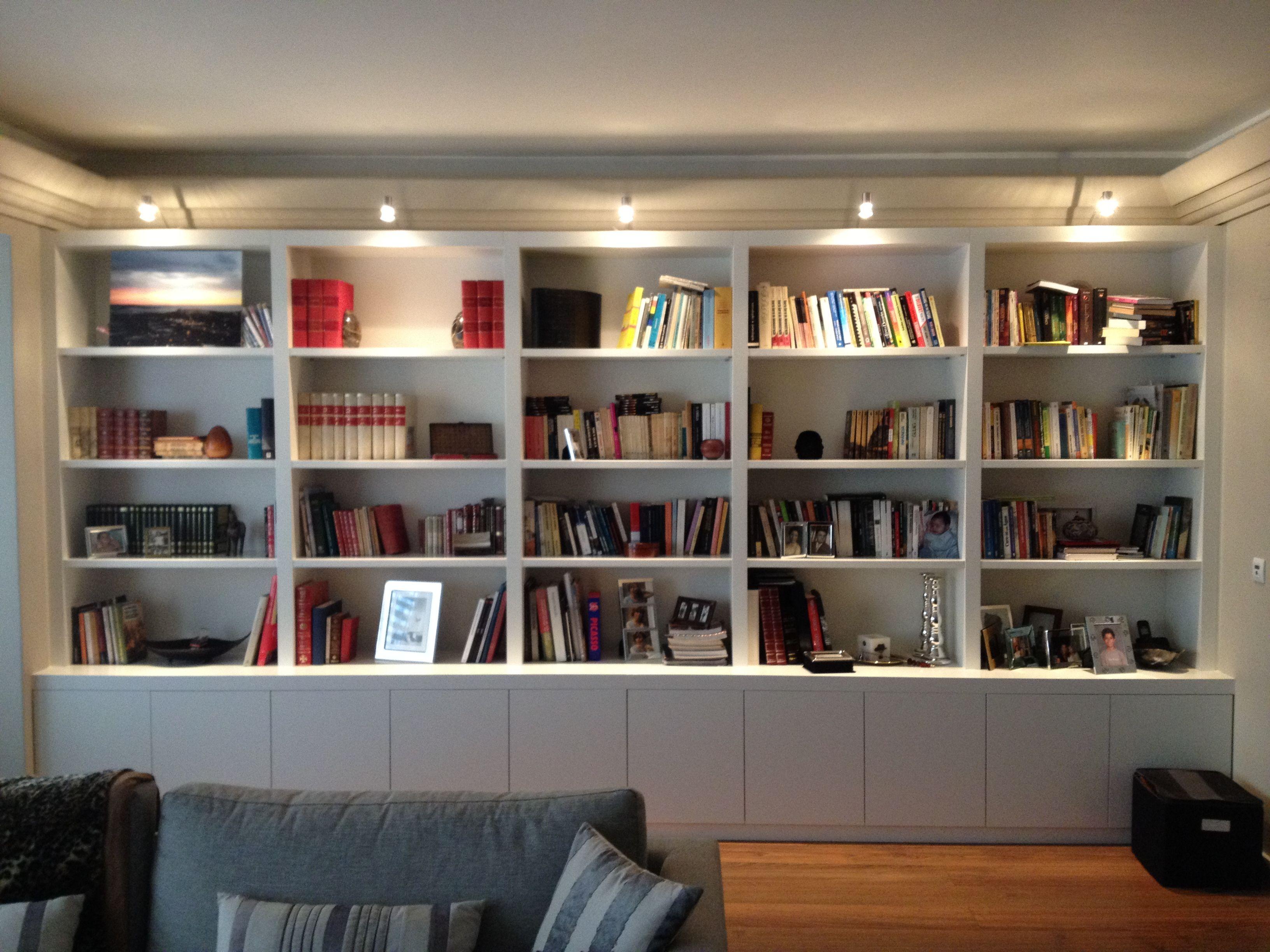 Cliente Particular Bookshelvesshelvingbespokebookcasesshelvescustom