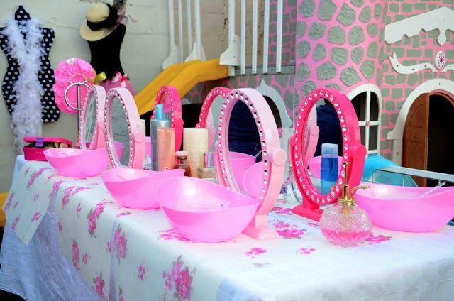 Decoracion fiesta infantil para ni as motivo spa tortas unicas spa pinterest fiestas - Decoracion infantil nina ...