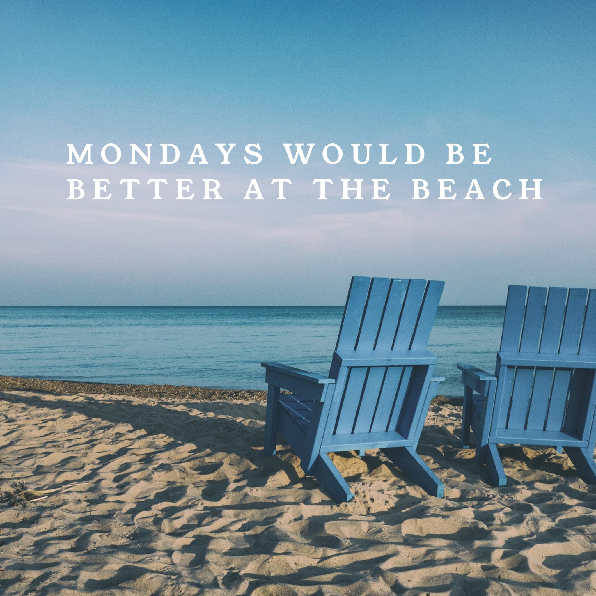 Monday Motivation Quotes Beautiful Beach Scenes Beach Quotes Happy Monday Quotes