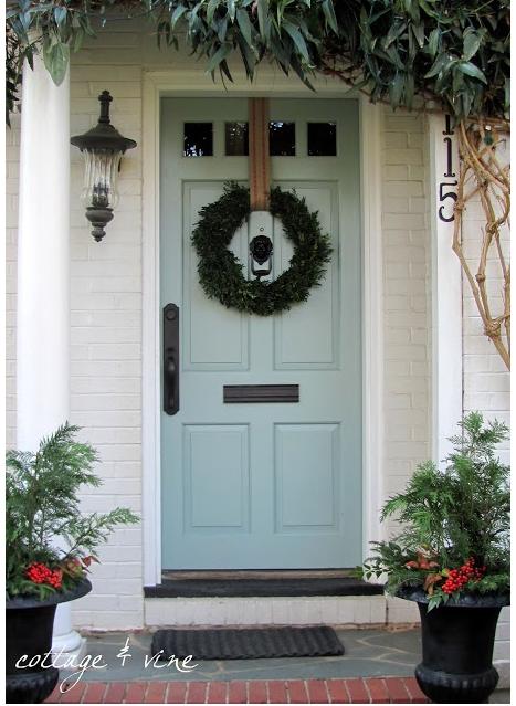 Haustür landhaus blau  Grau-blau ist auch sehr schön...   Doors & Windows   Pinterest ...