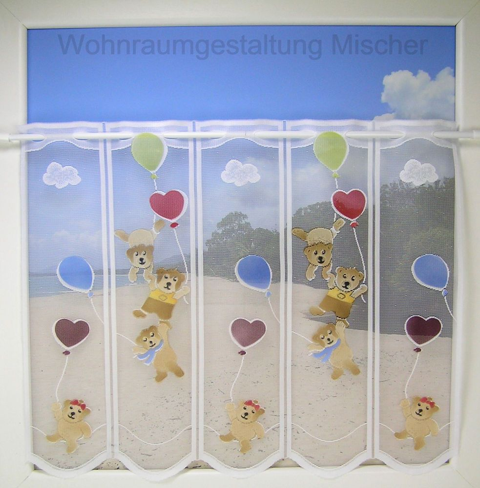 73 1lamelle h59cm panneaux kurzgardine scheibengardinen for Bistrogardine kinderzimmer