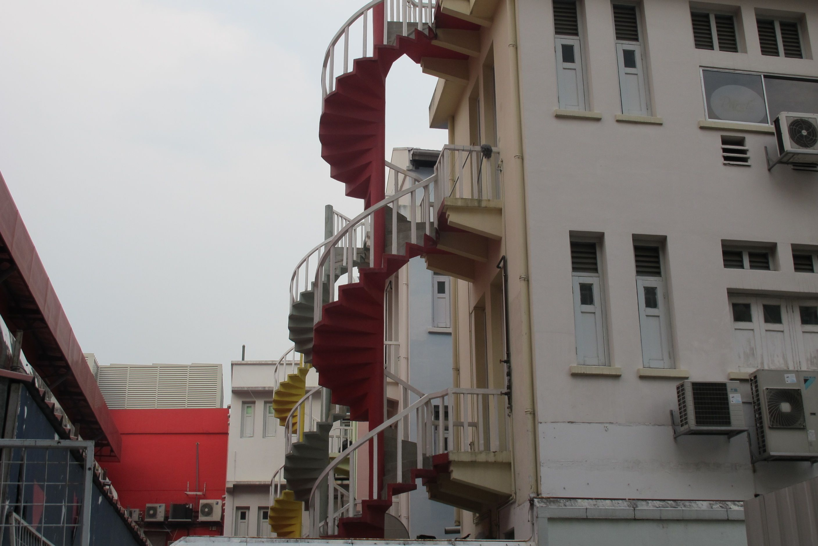 Best Colorful Spiral Stairs At Bugis Street 400 x 300