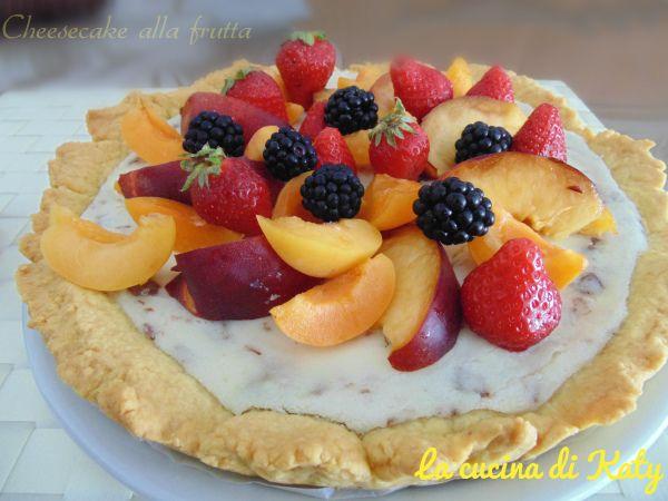 Photo of Cheesecake alla frutta | la cucina di Katy e Lillu