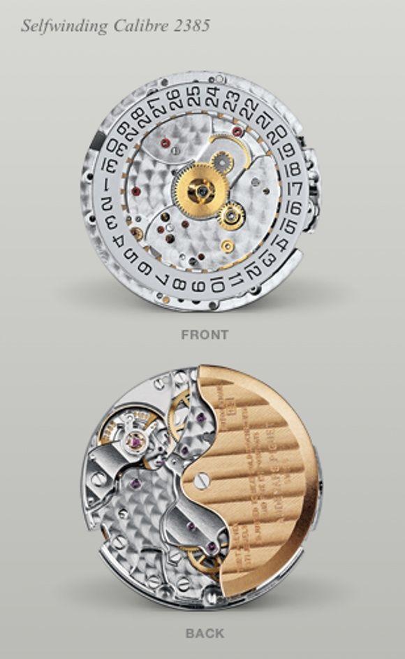 64d311a8a7d17 AP 2385 movement (F.Piguet 1185 based) in the Audemars Piguet Royal Oak  Chronograph