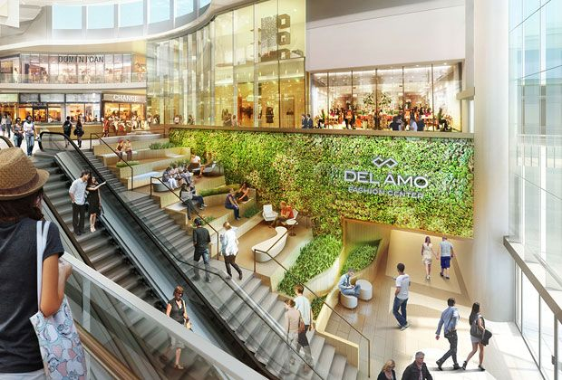 Del Amo Fashion Center Project 5 Design With Images
