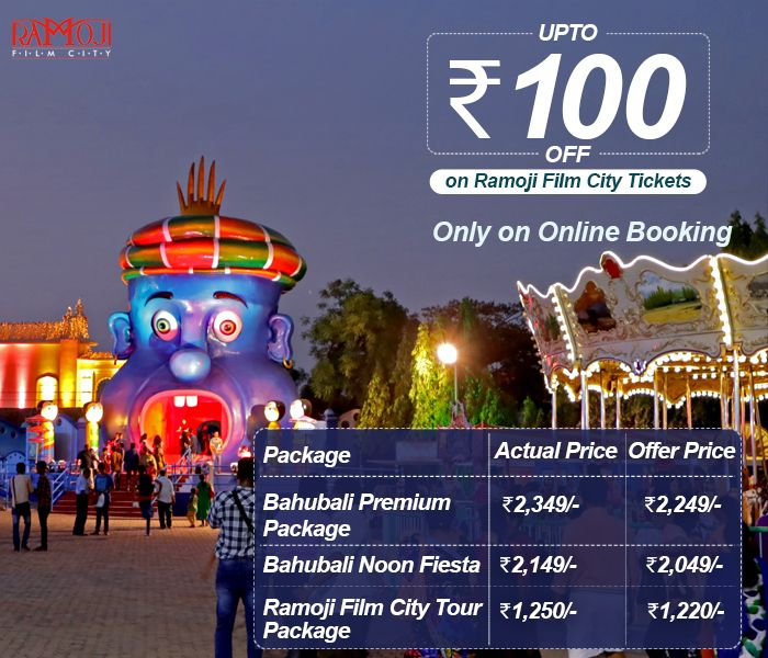 Great Deals On Ramoji Film City Tour Packages Get Upto Rs 100 Off On Every Ticket Purchase Valid Onl Family Holiday Destinations City Holiday Destinations