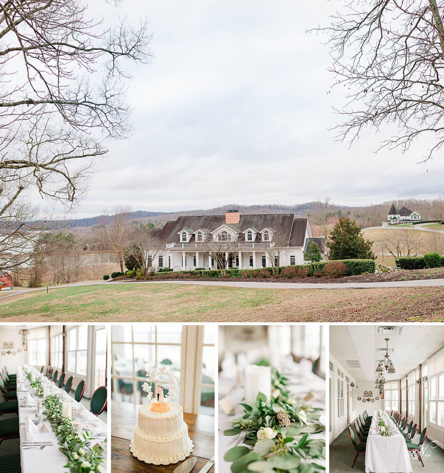 Whitestone Inn Winter Wedding Nelya Knoxville Wedding Photographer Gatlinburg Weddings Knoxville Wedding Photographer Winter Wedding