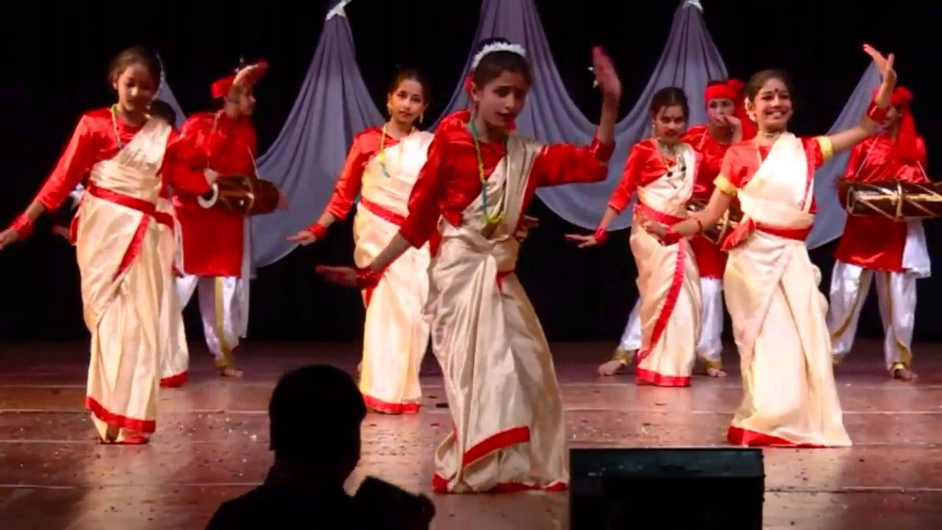 wk 4 incredible india theme folk dance medley, Folk