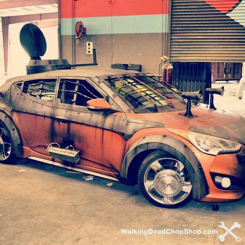 Veloster Zombie Machine Zombie Cars Pinterest Cars