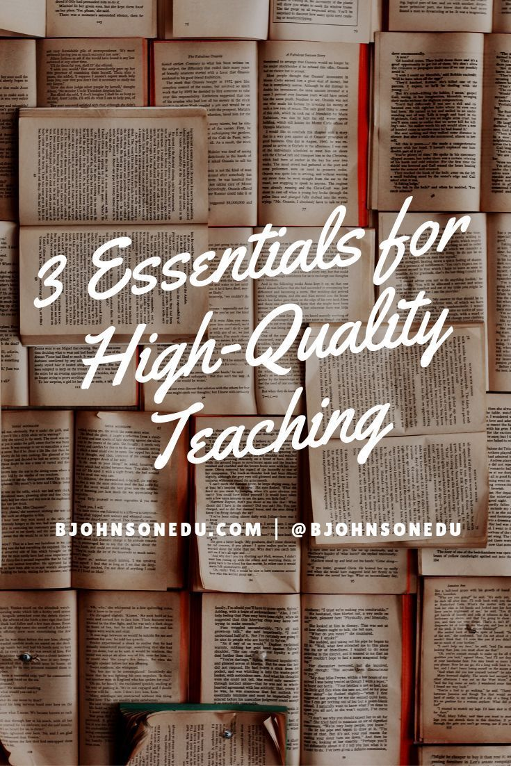 Do you want to know what are the 3 essentials for high